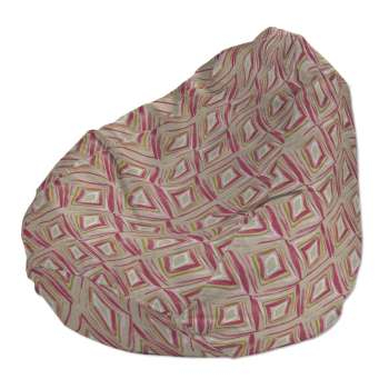 Beanbag Ø50 x 85 cm (20 x 33,5 inch) in collection Londres, fabric: 140-45