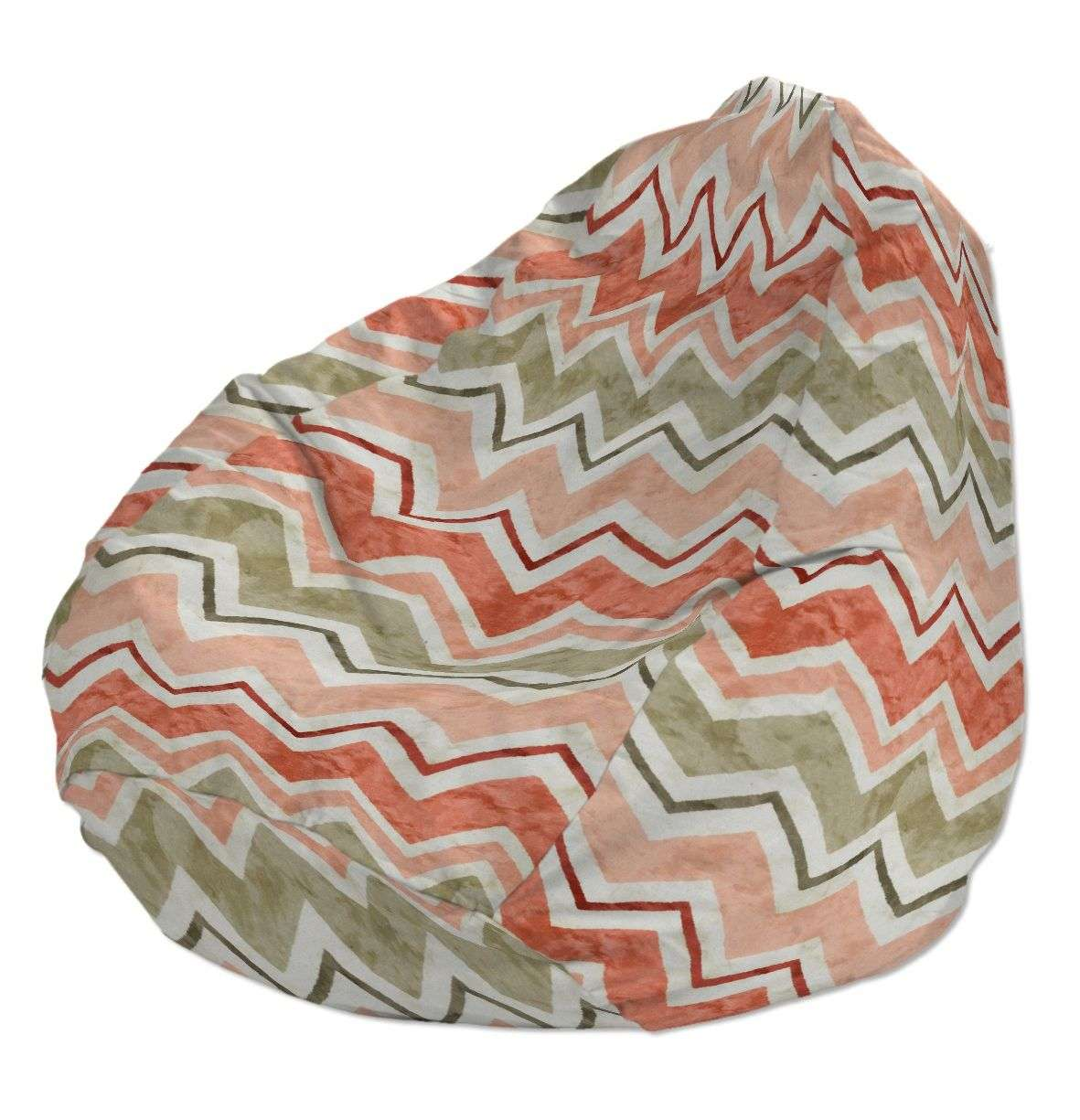 Beanbag Ø50 x 85 cm (20 x 33,5 inch) in collection Acapulco, fabric: 141-40