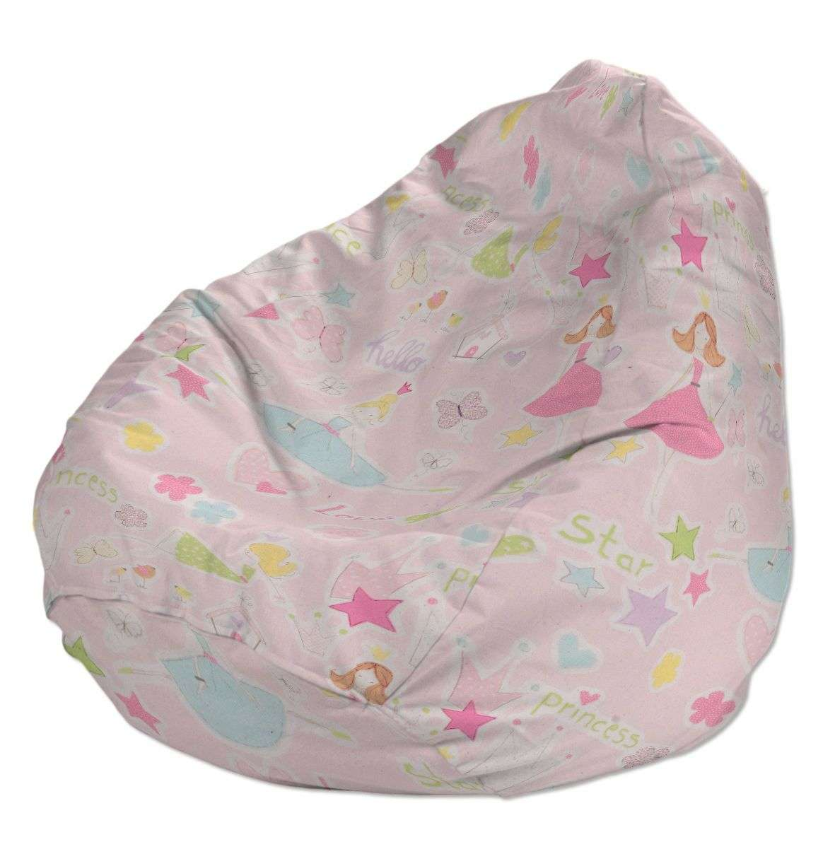 Beanbag Ø50 x 85 cm (20 x 33,5 inch) in collection Little World, fabric: 141-50