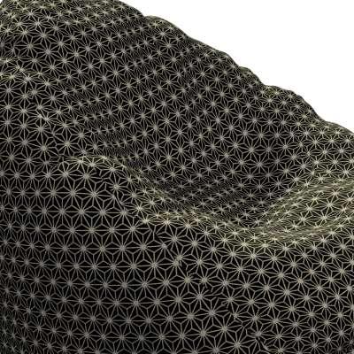 Sækkestol fra kollektionen Black & White, Stof: 142-56