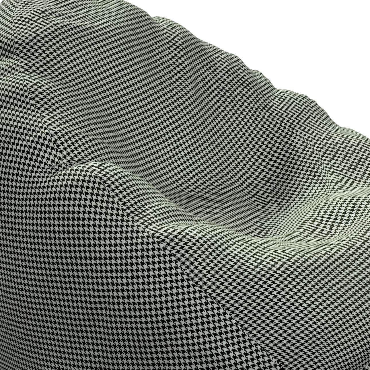Sækkestol fra kollektionen Black & White, Stof: 142-77