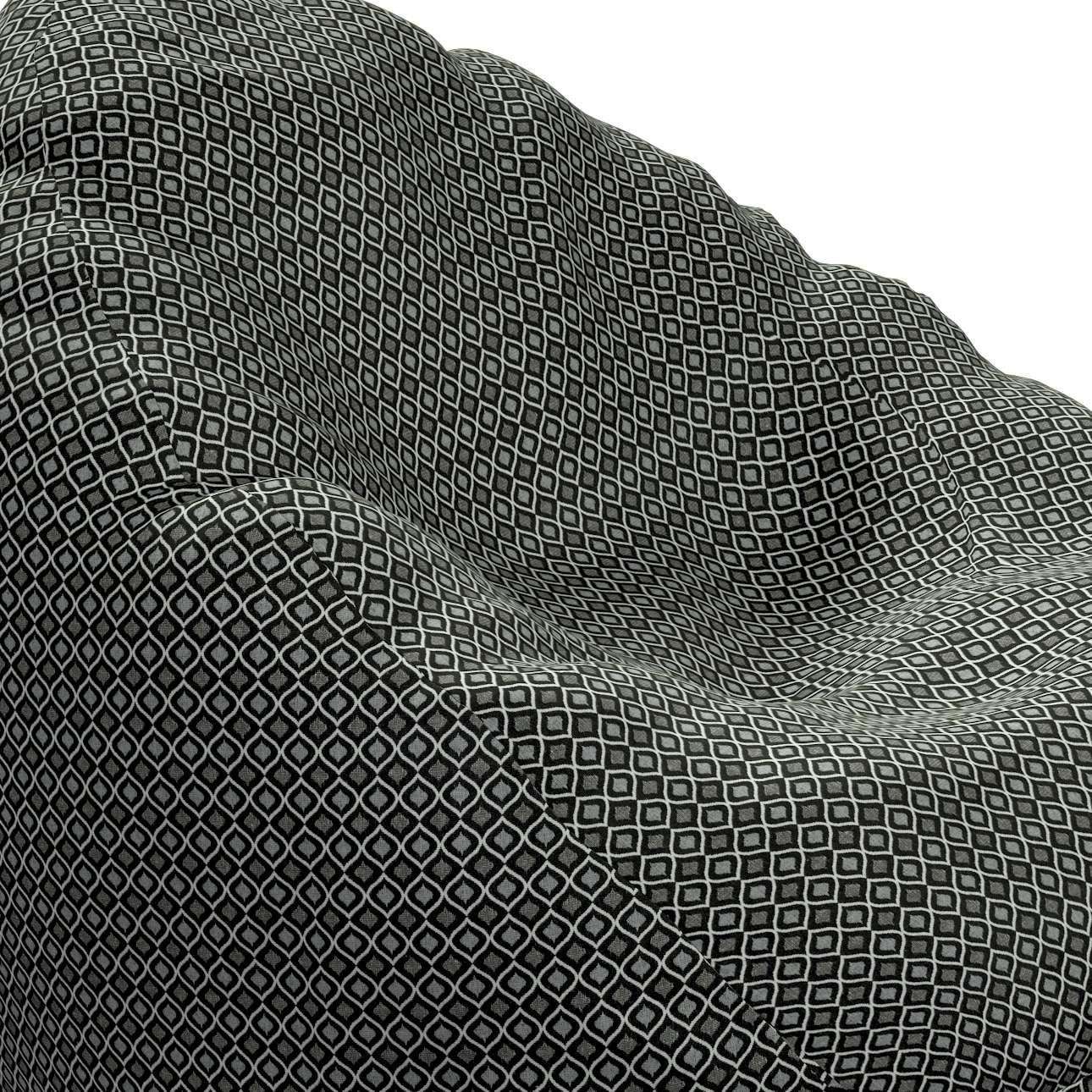 Worek do siedzenia w kolekcji Black & White, tkanina: 142-86