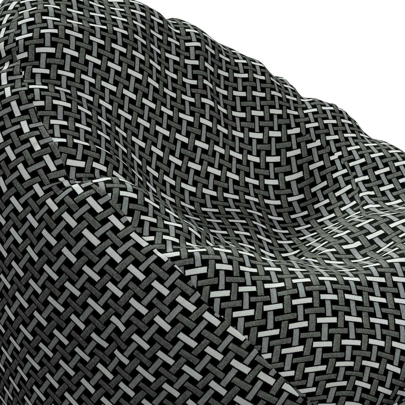 Worek do siedzenia w kolekcji Black & White, tkanina: 142-87
