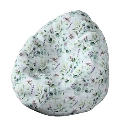 Sekkestol 143-66 Naturhvit med pint Magnolie Kolleksjon Flowers