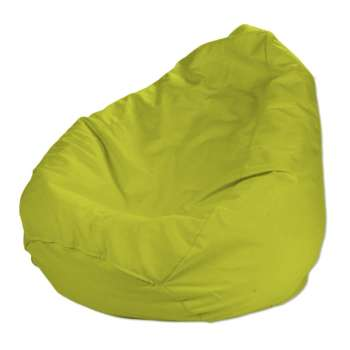 Beanbag Ø50 x 85 cm (20 x 33,5 inch) in collection Jupiter, fabric: 127-50