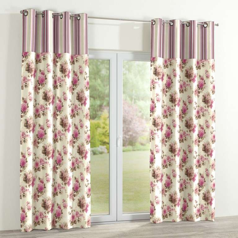vorhang duo mit sen beige rosa dekoria. Black Bedroom Furniture Sets. Home Design Ideas
