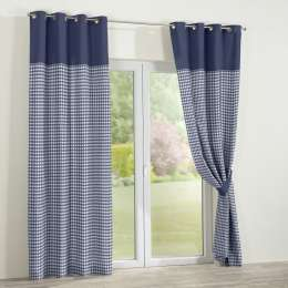 Multicolour duo eyelet curtains 130x260cm