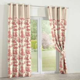 Multicolour duo eyelet curtains 130x260cm