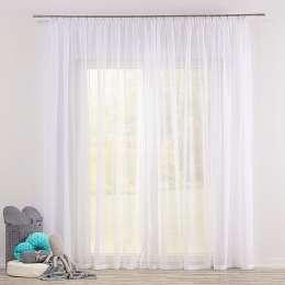 Voálová záclona na pásce