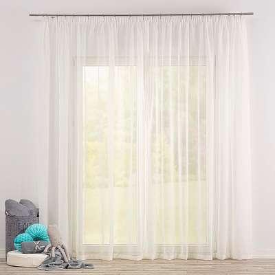 Dieninės pieštukinio klostavimo užuolaidos 900-01 dramblio kaulo Kolekcija Soft Veil