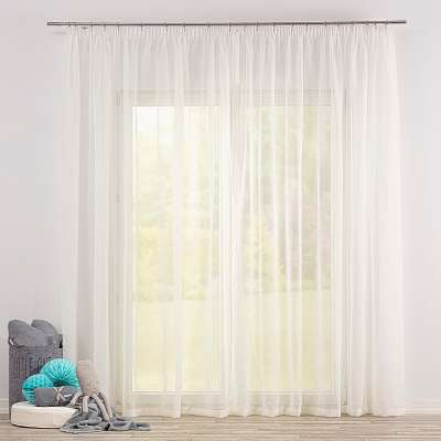 Gardine mit Kräuselband 900-01 ecru Kollektion Soft Veil