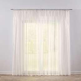 Pencil pleat voile/net curtain