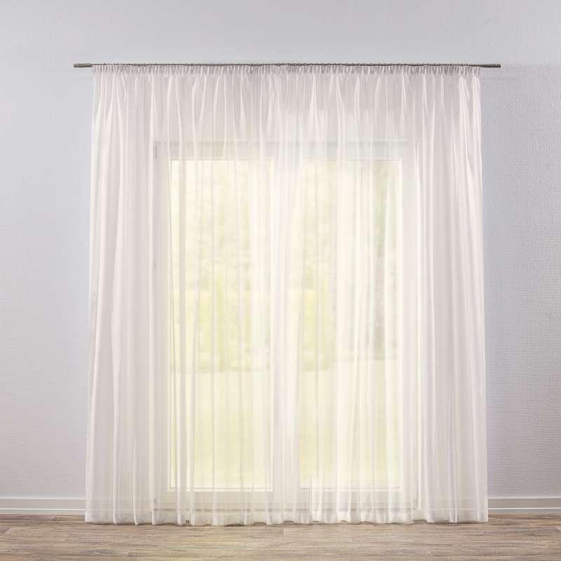 Záclona na riasiacej páske V kolekcii Voálové záclony, tkanina: 900-01