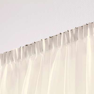 Pencil pleat voile/net curtain