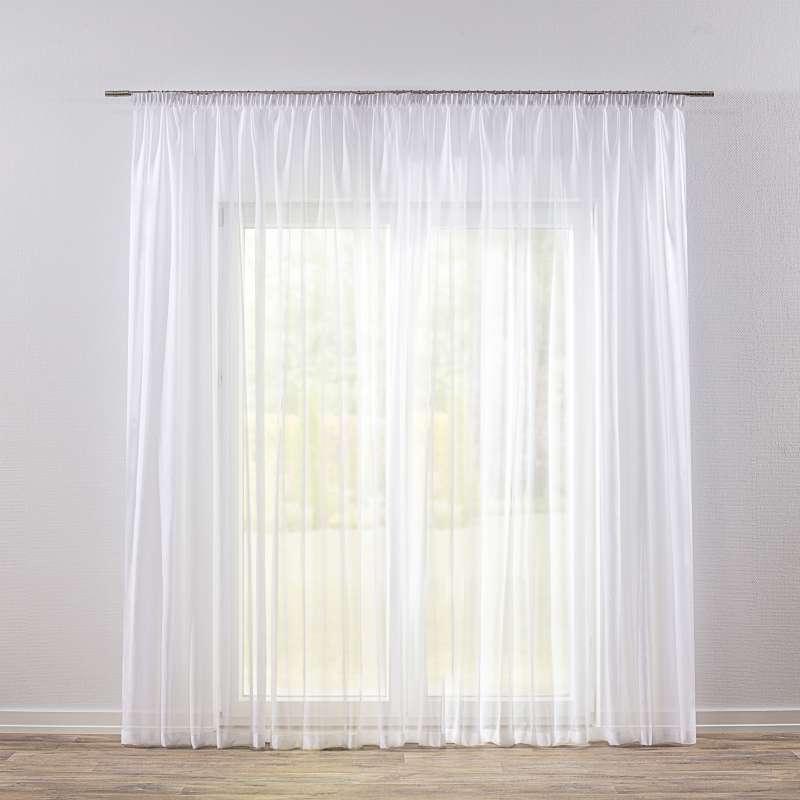 Záclona na riasiacej páske V kolekcii Voálové záclony, tkanina: 900-00