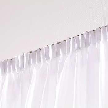 Záclona voálová jednoduchá s řasící páskou na míru v kolekci Voile - Voál, látka: 900-00