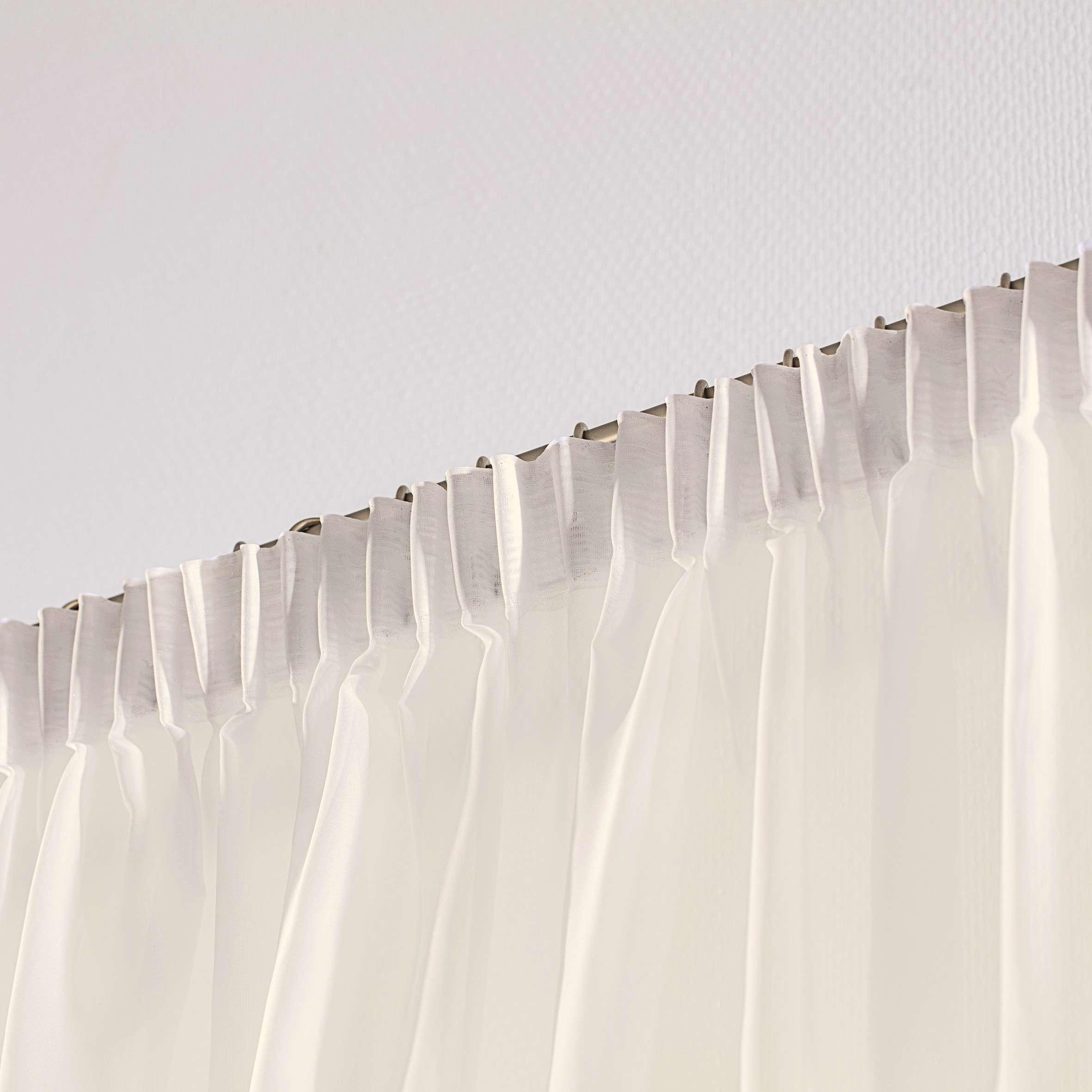 Záclona na riasiacej páske V kolekcii Záclona hladká, tkanina: 901-01