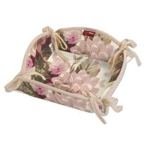 Koszyk na pieczywo 20x20 cm w kolekcji Mirella, tkanina: 141-07