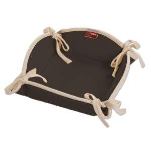 Koszyk na pieczywo 20x20 cm w kolekcji Cotton Panama, tkanina: 702-03
