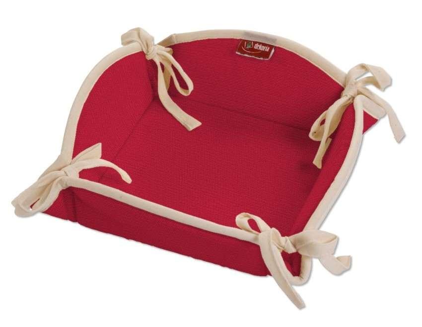 Koszyk na pieczywo 20x20 cm w kolekcji Cotton Panama, tkanina: 702-04
