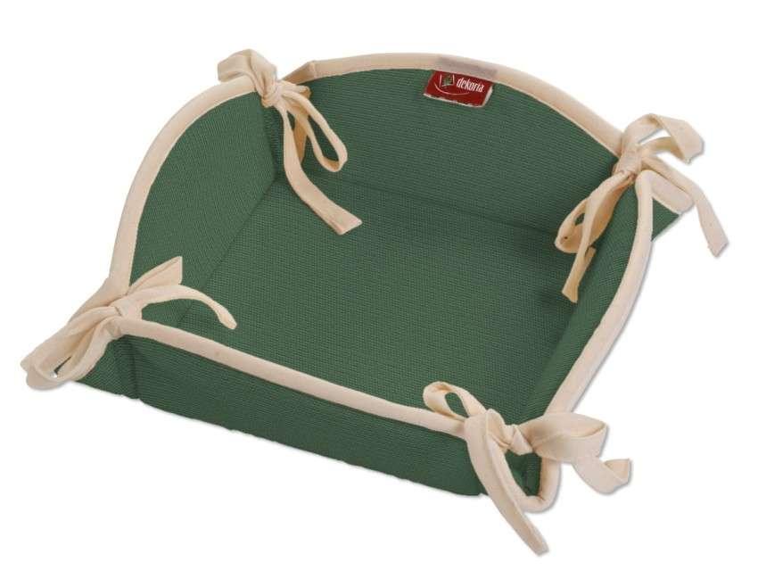 Koszyk na pieczywo 20x20 cm w kolekcji Cotton Panama, tkanina: 702-06