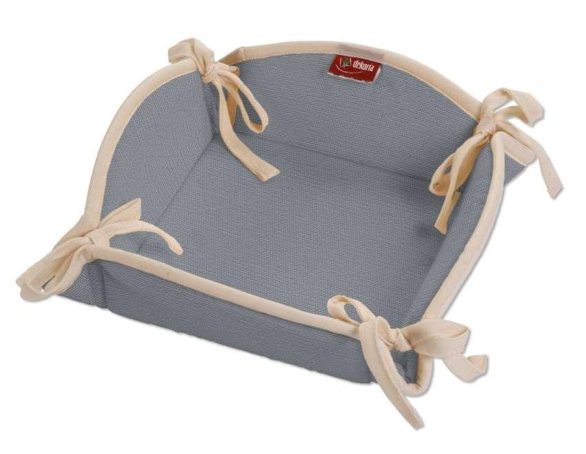 Koszyk na pieczywo 20x20 cm w kolekcji Cotton Panama, tkanina: 702-07