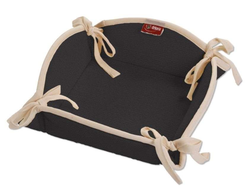 Koszyk na pieczywo 20x20 cm w kolekcji Cotton Panama, tkanina: 702-08