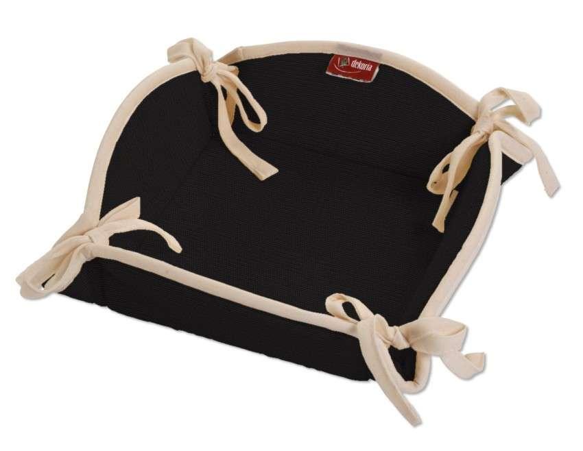 Koszyk na pieczywo 20x20 cm w kolekcji Cotton Panama, tkanina: 702-09