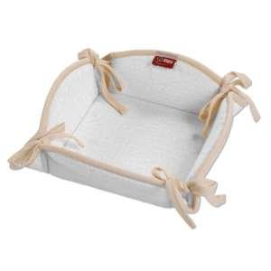 Koszyk na pieczywo 20x20 cm w kolekcji Linen, tkanina: 392-04