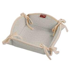 Koszyk na pieczywo 20x20 cm w kolekcji Linen, tkanina: 392-05