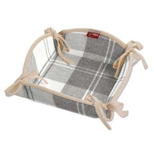 Koszyk na pieczywo 20x20 cm w kolekcji Edinburgh, tkanina: 115-79