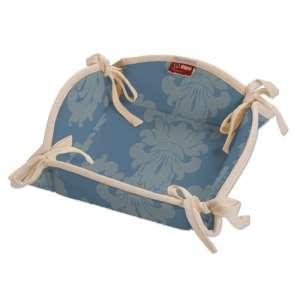 Koszyk na pieczywo 20x20 cm w kolekcji Damasco, tkanina: 613-67