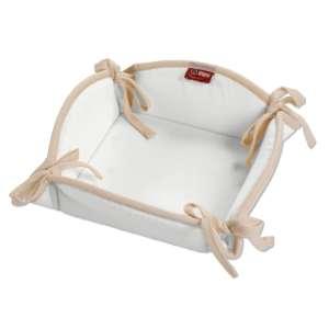 Koszyk na pieczywo 20x20 cm w kolekcji Loneta, tkanina: 133-02