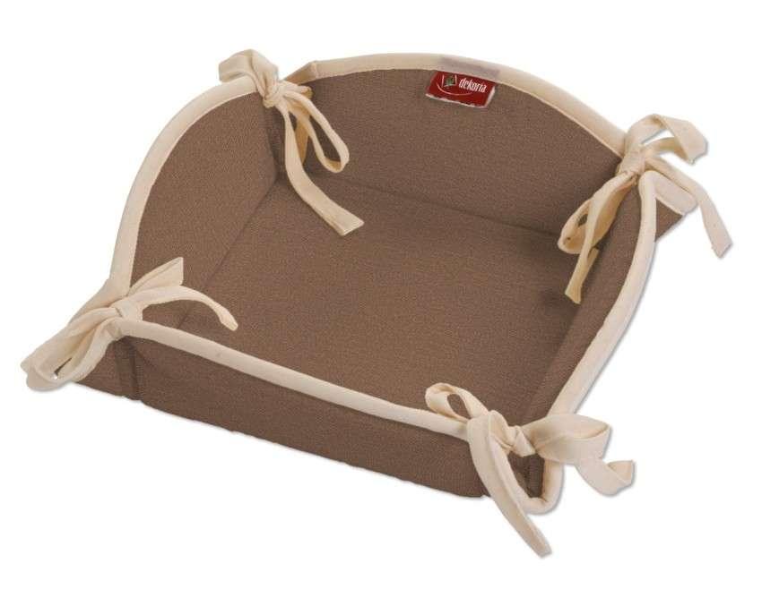 Koszyk na pieczywo 20x20 cm w kolekcji Loneta, tkanina: 133-09