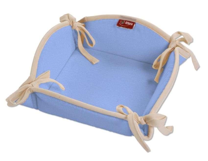 Košík na pečivo podle látek 20 x 20 cm v kolekci Loneta, látka: 133-21