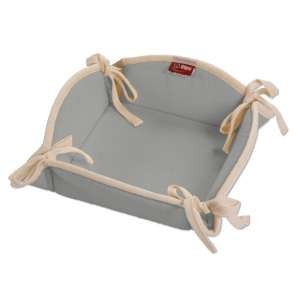 Koszyk na pieczywo 20x20 cm w kolekcji Loneta, tkanina: 133-24
