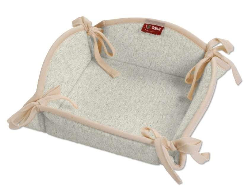 Koszyk na pieczywo 20x20 cm w kolekcji Loneta, tkanina: 133-65