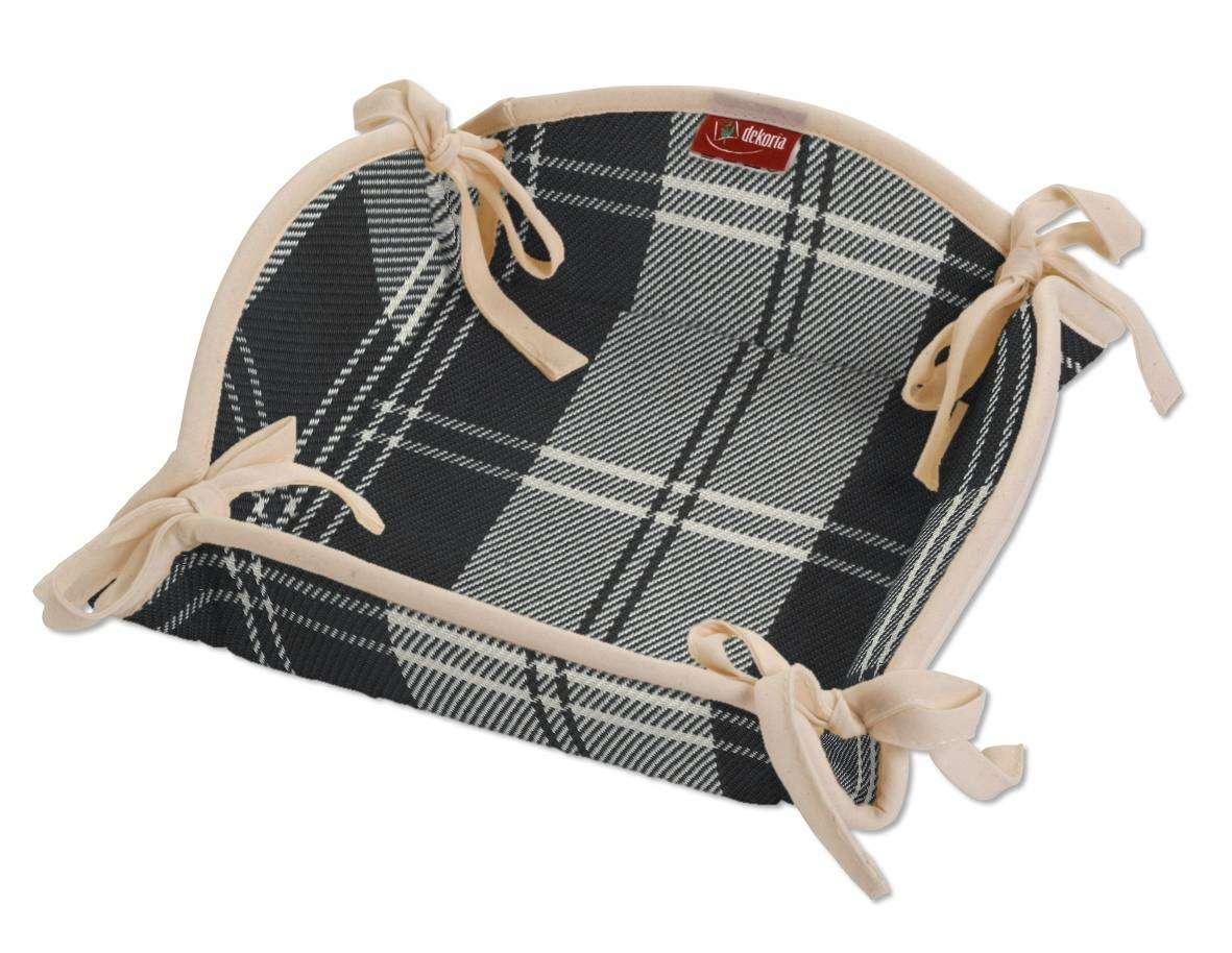 Brotkorb 20 x 20 cm von der Kollektion Edinburgh , Stoff: 115-74