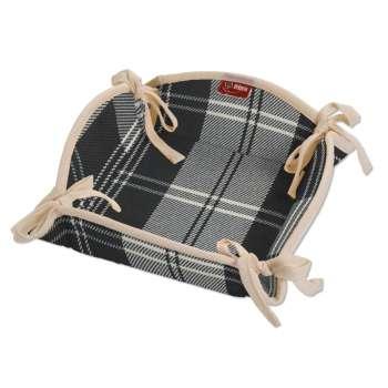 Koszyk na pieczywo 20x20 cm w kolekcji Edinburgh, tkanina: 115-74
