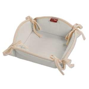 Koszyk na pieczywo 20x20 cm w kolekcji Cotton Panama, tkanina: 702-31