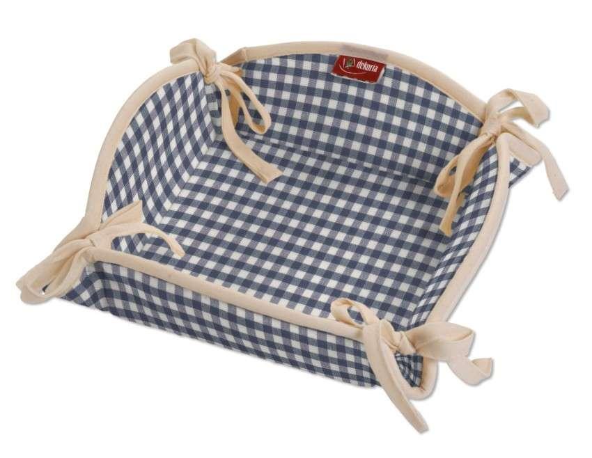 Koszyk na pieczywo 20x20 cm w kolekcji Quadro, tkanina: 136-00
