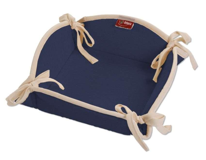 Koszyk na pieczywo 20x20 cm w kolekcji Quadro, tkanina: 136-04