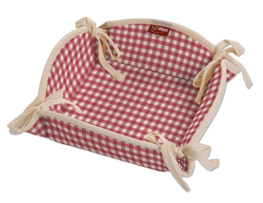 Textilný košík V kolekcii Quadro, tkanina: 136-15