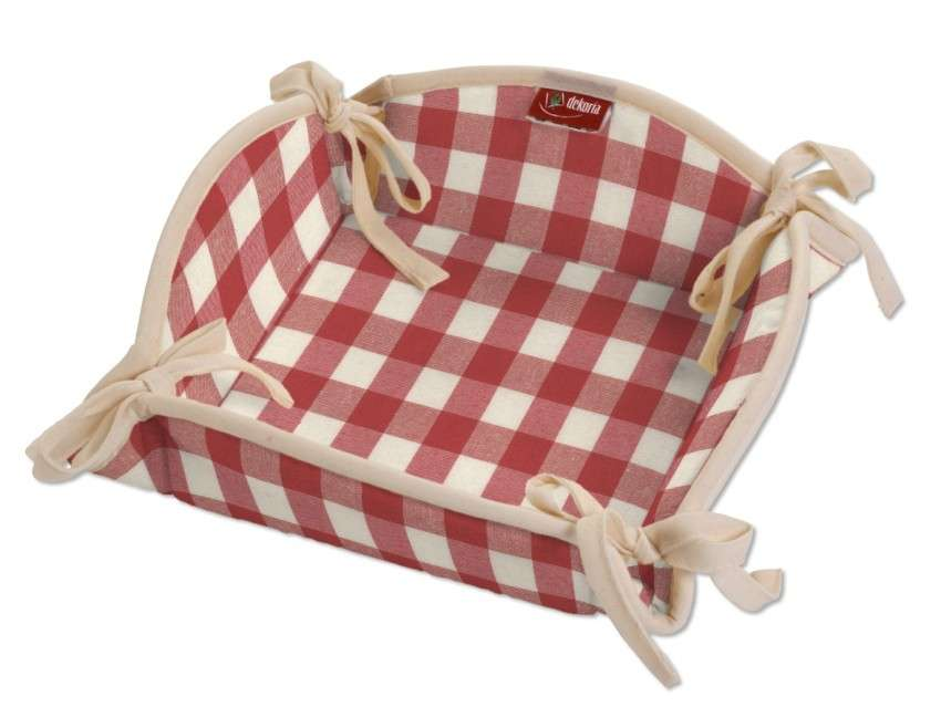 Textilný košík V kolekcii Quadro, tkanina: 136-16
