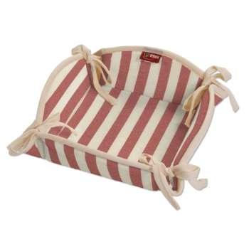 Koszyk na pieczywo 20x20 cm w kolekcji Quadro, tkanina: 136-17