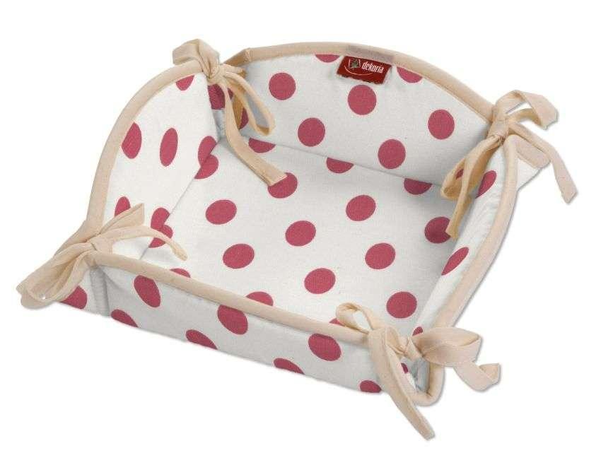 Koszyk na pieczywo 20x20 cm w kolekcji Ashley, tkanina: 137-70