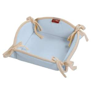 Koszyk na pieczywo 20x20 cm w kolekcji Loneta, tkanina: 133-35