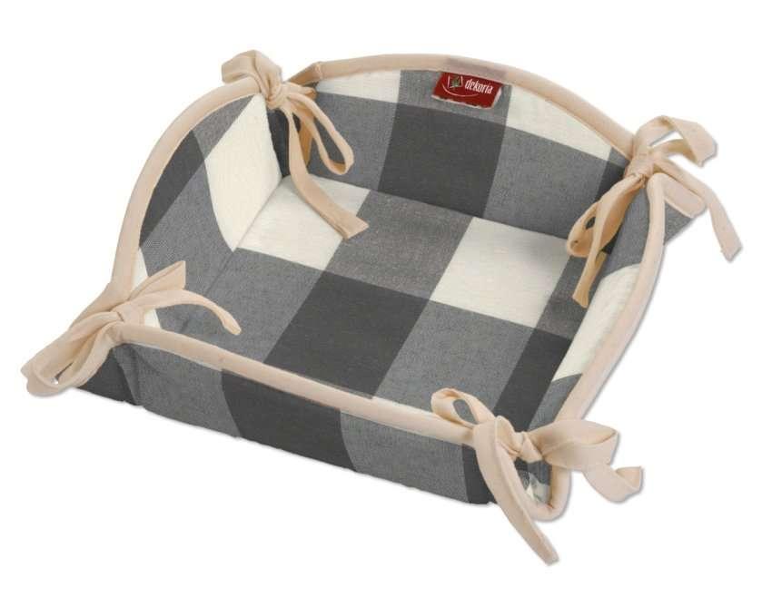 Textilný košík V kolekcii Quadro, tkanina: 136-13