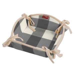 Koszyk na pieczywo 20x20 cm w kolekcji Quadro, tkanina: 136-13