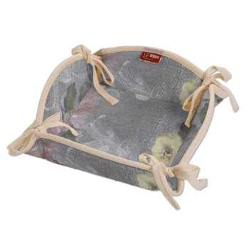 Košík na pečivo podle látek 20 x 20 cm v kolekci Monet, látka: 137-81